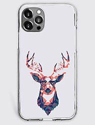 cheap -Graphic Prints Animal Case For Apple iPhone 12 iPhone 11 iPhone 12 Pro Max Unique Design Protective Case Shockproof Back Cover TPU