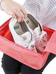 cheap -Shoe Bag & Box Terylene 1pack Unisex Red Wine / Blue / Blushing Pink