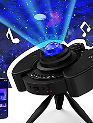 cheap -led star projector night colorful light universe usb galaxy sky lite with bluetooth music speaker nightlight mood for bedroom home theater game rooms or party decoration gifts for kids