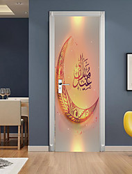 cheap -Holiday Wall Stickers Bedroom / Living Room, Removable Vinyl Home Decoration Wall Decal 1pc