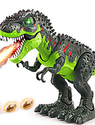 cheap -Dragon & Dinosaur Toy Dinosaur Figure Triceratops Jurassic Dinosaur Tyrannosaurus Rex with Sound Sensor Electric Plastic Kid's Party Favors, Science Gift Education Toys for Kids and Adults