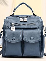 cheap -women casual solid crossbody bag backpack shoulder bag