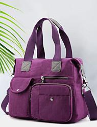 cheap -women large capacity waterproof multi-pocket handbag shoulder bag
