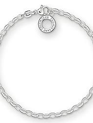 cheap -charm club silver women's charm bracelet, 15.5 - 16 cm x0163-001-12-s