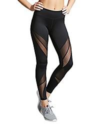 cheap -2019 New Women's Hight Waist Yoga Pants, Fitness Leggings Running Gym Stretch Sports Trouser Black