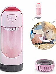 cheap -Petpopo Dog Water Bottle,Portable and Telescopic,with Activated Carbon Filter,Leakproof Lock Key,Food Grade PC,for Walking and Travel