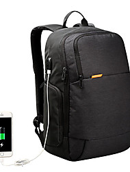 cheap -kingsons men usb external charging anti theft laptop backpack for 15.6 inch laptop