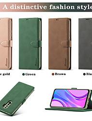 cheap -Retro leather Flip Phone Case For Xiaom Mi 10T 10T Pro 10T Lite Magnetic Closure Protective Cover with Card Slots Cash Pockets For Redmi Note 9 9Pro Max Redmi 9A/9C Redmi Note 8/8T/8Pro