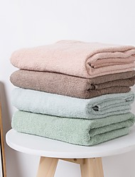 cheap -Superior Quality Bath Towel, Solid Colored / Fashion Pure Cotton Bathroom 1 pcs
