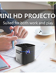 cheap -DL-S12 WiFi Mini Projector 1+16GB Android Projector Latest Update 3000 Lux Outdoor Movie Projector Compatible with Smartphones, PS4, TV Box, HDMI, USB, AV for Home Entertainment