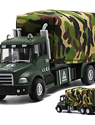 cheap -Toy Car Pull Back Vehicle Tank Train Metal for Unisex