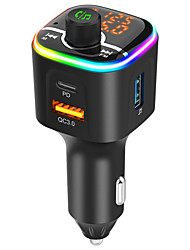 cheap -QC 3.0 / LED Display / PD Car Charger Adapter USB 1 USB Port Charger Only 5 V / 1.5 A / 3 A / 2 A