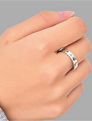 cheap -Band Ring Silver Alloy Moon Star Stylish Simple 1pc Adjustable / Women's / Open Cuff Ring