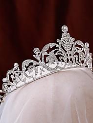 cheap -Bridal Cute Alloy Tiaras with Rhinestone 1 Piece Wedding Headpiece