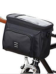 cheap -5 L Bike Handlebar Bag Breathable Rain Waterproof Cycling Bike Bag PVC(PolyVinyl Chloride) Bicycle Bag Cycle Bag Outdoor Exercise Multisport