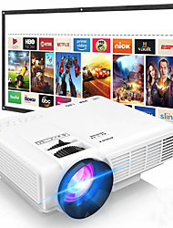 cheap -Full HD Supported Upgraded  Video Projector Compatible with TV Stick PS4 HDMI USB AV for Home Cinema & Outdoor Movie