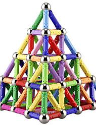 cheap -Magnetic Blocks Magnetic Sticks Magnetic Tiles Building Blocks Building Bricks 157 pcs Parent-child Games Eiffel Tower Magnetic Novelty Building Toys Boys' Girls' Toy Gift / Kid's / Metalic