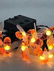 cheap -Outdoor Solar String Light LED String Lights 5m 20 LEDs Outdoor Waterproof Indoor Party Holiday 2V LED Solar Garden Light