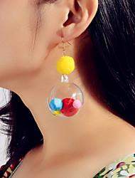 cheap -Women's Drop Earrings Fancy Cute Earrings Jewelry Rainbow color For Festival