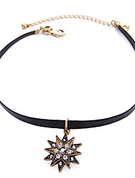 cheap -Choker Necklace Layered Necklace Women's Layered Star Cool Black 30+8 cm Necklace Jewelry 1pc for Daily Prom Festival irregular