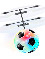 cheap -Mini Magic Flying Ball Flying Gadget Plane / Aircraft Helicopter Gift Glow in the Dark LED Plastic Boys' Girls' Toy Gift / Fluorescent / with Infrared Sensor