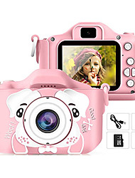 cheap -Kids Camera, 20.0MP Digital Dual Camera Rechargeable with 2.0 Inch IPS Screen,32GB SD Card Included, Ideal Gift for 3-12 Years Old Girls Boys Gifts