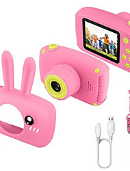 cheap -Kids Camera for Girls,12MP 1080P FHD Digital Video Camera with 28 Funny Filters, Soft Silicone Cute Shell for 3-14 Years Kids