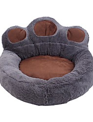 cheap -Dog Cat Dog Beds Cat Beds Dog Bed Mat Paw Warm Multi layer Soft Elastic For Indoor Use Plush Fabric for Large Medium Small Dogs and Cats