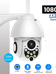 cheap -SDETER 1080P 2MP Wireless PTZ IP Camera Speed Dome CCTV Security Camera Outdoor ONVIF IR Night Vision Motion Detection Mobile Remote Monitoring P2P Pan Tilt Camera WIFI Surveillance