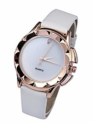 cheap -Womens Watch, Leather Band New Strap Analog Quartz Wrist Watch Retro Exquisite Luxury Classic Bracelet Casual Business Watches for Ladies Teen Girls (F)