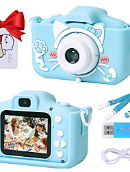 cheap -Digital Camera Toys Dual Selfie Video Recorder Cat Gift with 32GB SD Card 1080p HD Kid's Adults' Boys and Girls Toy Gift