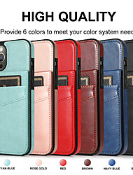 cheap -Retro PU Leather Wallet Case for iPhone 12 11 Pro Max Card Slots Cash Pockets Back Cover For iPhone XS Max XR X 7 8 PLUS SE2020