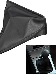 cheap -Black PU Leather Gear Stick Shift Gaiter Boot Cover For Toyota Corolla 1998 1999 2000 2001 2002 2003 - 2009 Gear Shift Collars