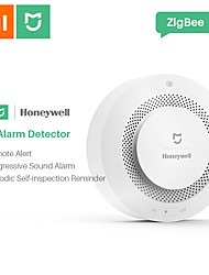 cheap -Xiaomi Mijia Honeywell Alarm Security Sensor Fire Smoke & Gas Detectors Multifunction 2 Smart Home Security with Battery APP Control Wifi Supported iOS / Android for Kitchen / Bathroom Wall Mounted
