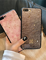cheap -Phone Case For Apple Back Cover iPhone 12 Pro Max 11 SE 2020 X XR XS Max 8 7 6 Shockproof Single Sided Tile Geometric Pattern Glitter Shine TPU