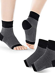 cheap -Plantar Fasciitis Socks 1 Pair Ankle Brace Compression Support Foot Sleeves For Planter Fasciitis Arch Support Pain Relief Open Toe