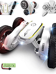 cheap -Toy Car Remote Control Car Rechargeable 360° Rotation Remote Control / RC Double Sided Music & Light Buggy (Off-road) Stunt Car Racing Car 2.4G For Kid's Adults' Gift