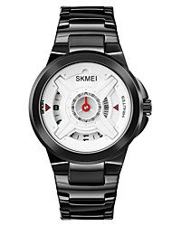 cheap -SKMEI Men's Steel Band Watches Digital Quartz Stylish Shock Resistant Large Dial / One Year / Stainless Steel / Stainless Steel