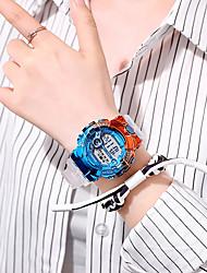 cheap -Men's Digital Watch Analog Digital Sporty Modern Style Altimeter / One Year / Leather
