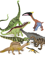 cheap -8 pcs Action Figure Dinosaur Novelty PVC(PolyVinyl Chloride) Imaginative Play, Stocking, Great Birthday Gifts Party Favor Supplies Boys' Girls'