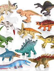 cheap -Dragon & Dinosaur Toy Dinosaur Figure Triceratops Jurassic Dinosaur Velociraptor Tyrannosaurus Rex PVC 12 pcs Kid's Party Favors, Science Gift Education Toys for Kids and Adults