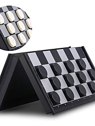 cheap -Board Game Checkers Draughts Professional Magnetic Large Size Plastic Kid's Adults' Unisex Boys' Girls' Toy Gift / 14 Years & Up