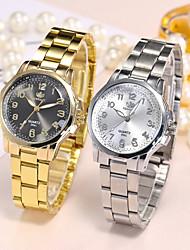 cheap -Women's Steel Band Watches Analog - Digital Quartz Glitter Fashion Creative