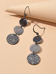 cheap -Women's Drop Earrings Geometrical Fashion Earrings Jewelry Black For Date Festival