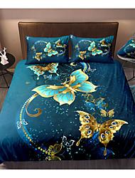 cheap -3D Printing Home Bedding Duvet Cover Sets Soft Microfiber For Kids Teens Adults Bedroom Animal 1 Duvet Cover + 1/2 Pillowcase Shams