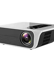 cheap -T8 1080P Wifi Android Projector FULL HD Home Theater Video Projector 4200 Lumens LCD Corded Portable Projector