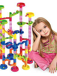 cheap -Marble Run Race Construction Marble Track Set Marble Run 105 pcs ABS Creative Novelty DIY Parent-Child Interaction as Children's gift Educational STEAM Toy Boys' Girls' Kid's Children's Toy Gift