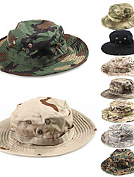 cheap -Men's Sun Hat Bucket Hat Fishing Hat Outdoor UV Sun Protection Windproof UPF50+ Quick Dry Spring Summer Hat Hunting Fishing Outdoor Exercise Camouflage Color Jungle camouflage Army Green