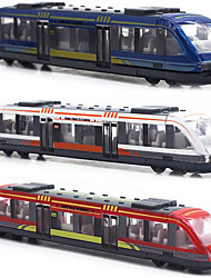 cheap -Toy Trains & Train Sets Train Metal Alloy Child's Teenager All Boys' Girls' Toy Gift 3 pcs