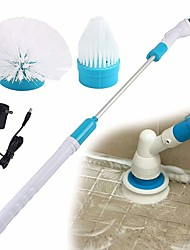 cheap -Electric Spin Scrubber 360 Cordless Tub and Tile Scrubber Multi-Purpose Power Surface Cleaner with 3 Replaceable Cleaning Scrubber Brush Heads